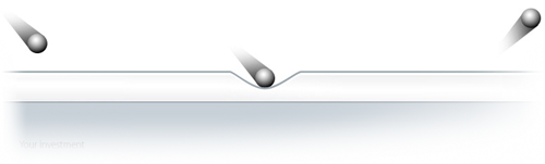 Ricochet glasskydd